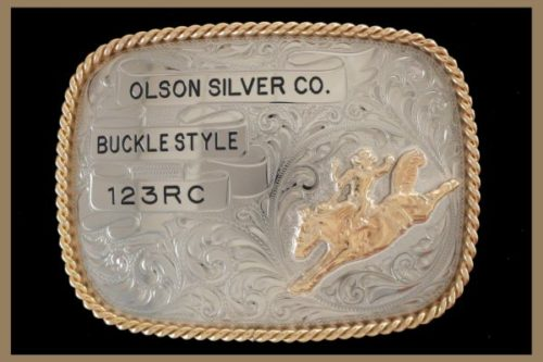 Custom belt buckle oval shaped with black letters