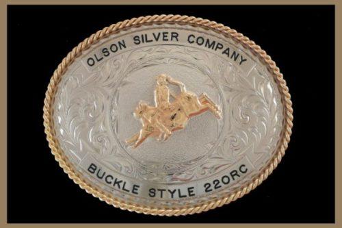 Custom Belt buckle oval shaped, black letters