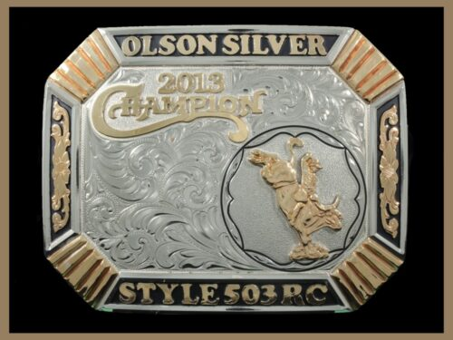 Custom Western Trophy Buckle