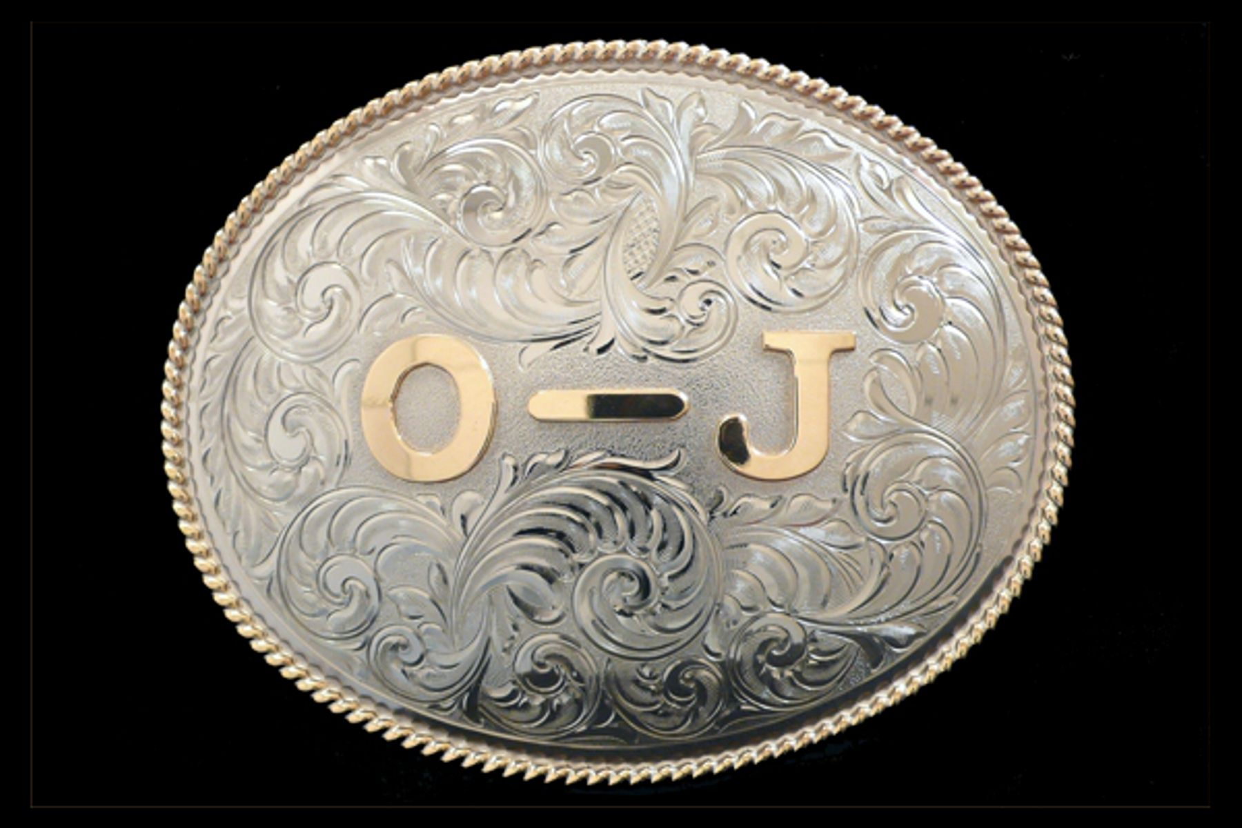 Hand Engraved Brand Buckle