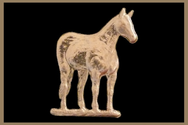 Standing Quarter Horse