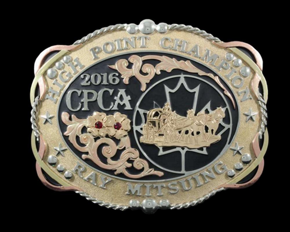 Custom Trophy Belt Buckle
